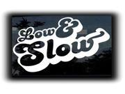 Low and Slow JDM Vinyl JDM Decals 5 Inch