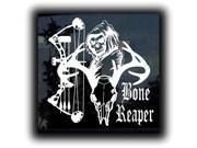 Bone Reaper Bow Hunting Custom Decal Sticker 5.5 inch