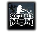 Softball Mom Custom Decal Sticker 7.5 inch
