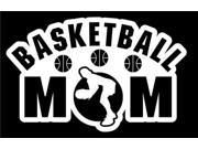 Basketball Mom 2 Stickers For Cars 7 Inch