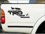 Turkey Hunter Special Toyota TRD Off Road Bedside stickers set of 2