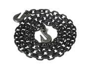 Tie Down Chain Assembly 1 2 x 10 w Clevis Grab Hooks Grade 80