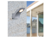 4.5W Outdoor LED Wall Light - Warm White COB LED Landscape Lighting - 480lm Waterproof Exterior LED Wall Lamp for Balcony, Courtyard, Garden, Park, Doorway Accent Lighting