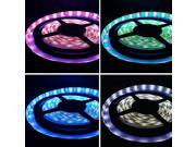 16.4ft (5m) RGB+WHITE Color Changing LED Strip Lights - RGBW Waterproof Flexible LED Light Strip - 5050 Epistar SMD 300LEDs - Waterproof IP65