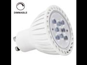110V 7W Dimmable GU10 LED Bulb - 2700K Warm White LED Spotlight - 60Watt Halogen Equivalent - 450 Lumen 36 Degree Beam Angle for Home, Recessed, Accent, Track Lighting