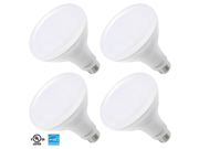 4 PACK 11W ENERGY STAR UL-listed Dimmable BR30 LED Bulb, 800lm 65W Equivalent LED BR30 Light Bulb, 5000K Daylight, 100 Degree Flood Light Bulb for Home, Commercial, Track, Recessed, General Lighting
