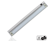 Extendable 110V 6W Multi-function LED Under Cabinet Lighting Fixture - Angle Adjustable LED Mirror Light - Warm White 90 LEDs - Toughened Glass Aluminum Housing 120° Beam Angle for Cabinet, Bathroom,