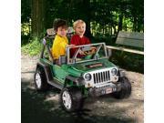 Power Wheels Deluxe Jeep Wrangler