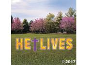 He Lives Yard Sign 9SIA61Y5J34934