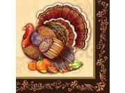 Thanksgiving Splendor Luncheon Napkins