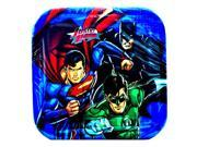 Justice League Rescue Dessert Plates - 7in (8 Pack) 9SIA61Y5UU4768