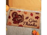Thanksgiving Coco Door Mat