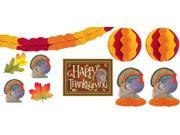 Thanksgiving Room Decorating Kit 10pc