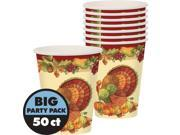 Joyful Thanksgiving Cups 50ct