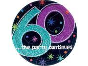 The Party Continues 60th Dessert Plates 9SIA61Y6CB7334