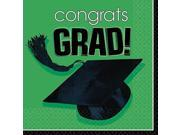 Green Congrats Grad Luncheon Napkins 9SIA61Y6CN1446