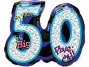 50th Birthday Balloon - Giant Oh No! 9SIA61Y6FC8999