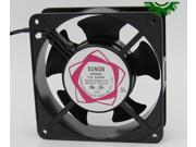 Square SUNON DP200A P N2123HSL AC Axial Fan with AC 220 240V 50 60Hz 0.14A 2 Wires