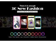 Fashion multi-purpose case,Silicone circle with many colors and noctilucent for case,hair band,cup,bracelet,rubber band,accessories 9SIA6253387789