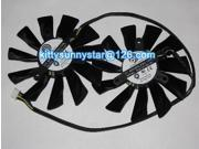 Original Power Logic PLD10015B12H 12V 0.55A 4Wire Graphic card fan For MSI R9 270X R9-280X R9-270X R7-260X  GTX770