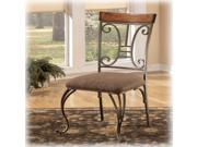 Ashley Furniture D313-01 Dining UPH Side Chair  Brown