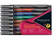Prismacolor Premier Illustration Markers  Brush Tip  Set of 8 Assorted Colors...