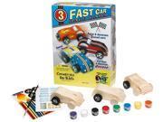 Creativity For Kids Fast Car Race Cars Kit 1165