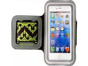 IPHONE 5 / 5S SPORTS ARMBAND INDIAN BORDER - GREEN