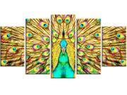 Flashy Feathers Peacock Canvas Art PT2414