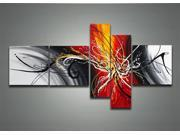 Contemporary Modern Abstract Art 1164 - 66 x 32in