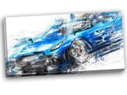 Burning Rubber Blue Super Car PT2608