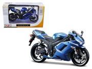 Kawasaki Ninja ZX-6R Blue Bike Motorcycle Model 1/12 by Maisto 9SIAC9B50P8603