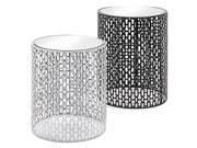 Essentials Jazz Mirror Table Set of 2