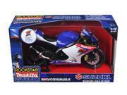 "Suzuki GSX-R1000 #1 Makita Suzuki Rockstar"""" Bike Motorcycle 1/12 by New Ray"""""" 9SIAC9B50P9270"