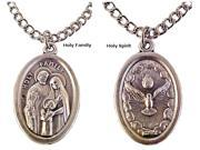 Holy Family Holy Spirit Medal