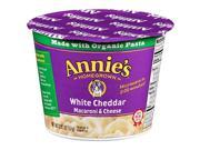ANNIES HOMEGROWN PASTA CUP WHITE CHDR 2.01 OZ Pack Of 12 9SIA62V4BB2049