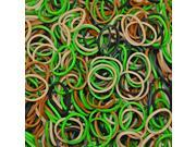 Rainbow Loom Camo Rubber Bands with 24 C-Clips