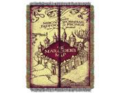 Harry Potter Marauders Map  Woven Tapestry Throw (48inx60in)