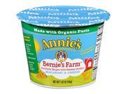 ANNIES HOMEGROWN, PASTA BARNIES FARM SNGL CUP, 1.62 OZ, (Pack of 12) 9SIA62V4068893