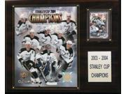 """NHL 12""""""""x15"""""""" Tampa Bay Lightning 2004 Stanley Cup Champions Plaque"""" 9SIA62V4SF0423"""
