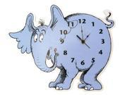 Dr. Seuss by Trend Lab Horton Hears a Who Horton Elephant Shaped Wall Clock