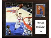 CandICollectables 1215PORZINGIS NBA 12 x 15 in. Kristaps Porzingis New York Knicks Player Plaque 9SIA00Y5125357