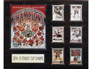 CandICollectables 1620SC15 NHL 16 x 20 in. Chicago Blackhawks 2014-2015 Stanley Cup Champions Plaque 9SIA00Y51U1894