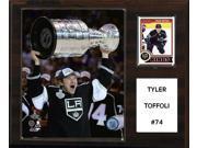 CandICollectables 1215TOFFOLI NHL 12 x 15 in. Tyler Toffoli Los Angeles Kings Player Plaque 9SIA00Y51U2107