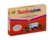 GOYA SAZON CLNTRO ACHIOTE 20CT 3.52 OZ Pack Of 18