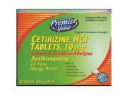 Premier Value Cetirizine 10Mg Tablets - 30ct