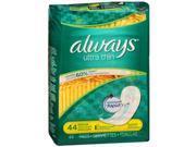 Always Ultra Thin Pads Regular - 6 packs of 44