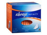 Always Infinity Maxi Pads Overnight - 14 ct