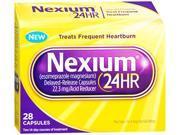 Nexium 24HR, Acid Reducer, Delayed-Release, Capsules -28 Capsules
