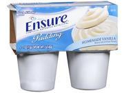 Ensure Nutritional Pudding Homemade Vanilla, 4 - 4 oz 9SIA63632A9382